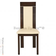 Стул CB-3921 Dark Walnut/Beige PVC(312)